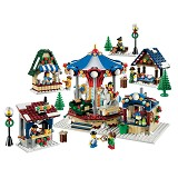 LEGO Winter Village Market [10235] - Building Set Architecture